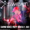 Sweat Atlanta Owner Nicholas featured at Dance event.