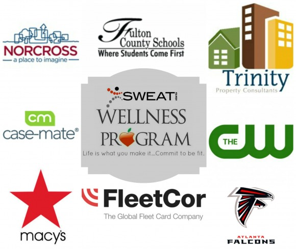 Sweat Atlanta Wellness Collage (with border)
